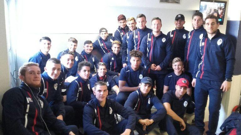 L'équipe de France  U16 se prépare pour mardi…