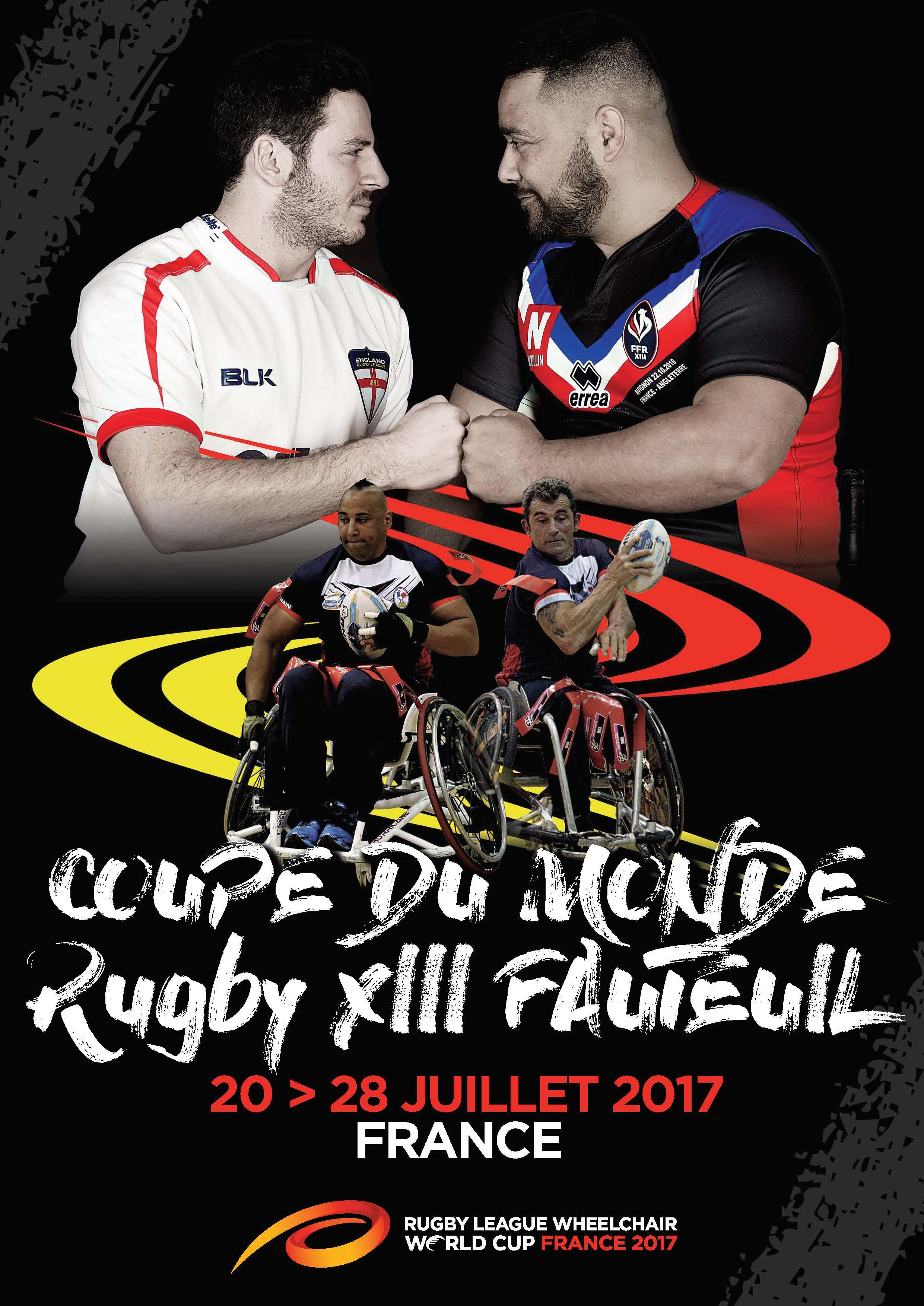 """Résultat de recherche d'images pour """"Coupe Du Monde De Rugby XIII Fauteuil"""""""