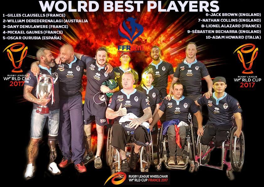 Classement final coupe du monde les 10 meilleurs joueurs f d ration fran aise de rugby xiii - Classement coupe d europe de rugby ...