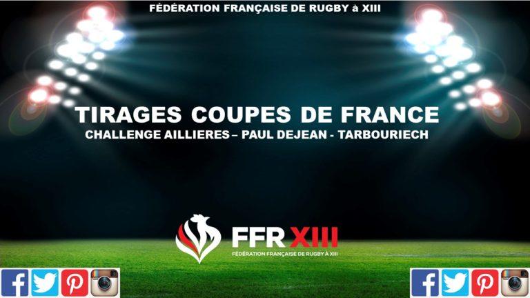 Tirages Coupes de France