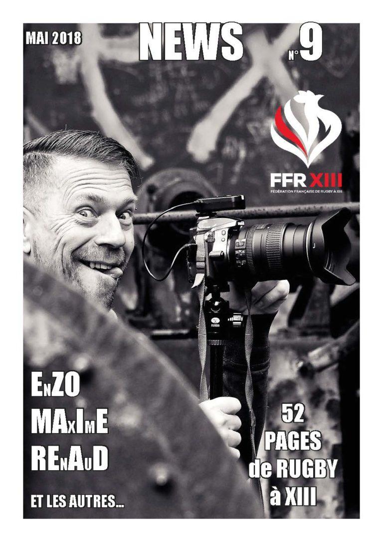 Le magazine numérique N°9 FFRXIII de mai est paru!