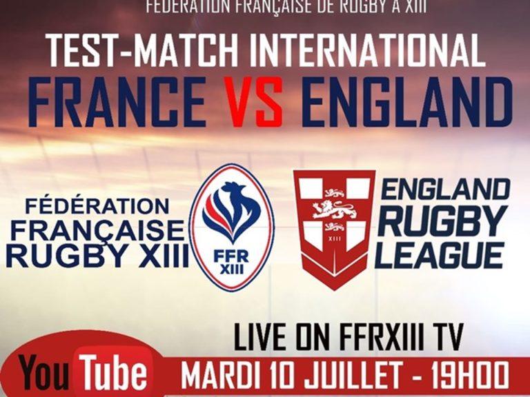 France U16 vs Angleterre U16 – En direct sur FFRXIII TV !