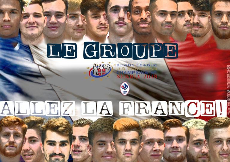 SERBIA 2018: Le groupe U19 contre l'Italie dévoilé!