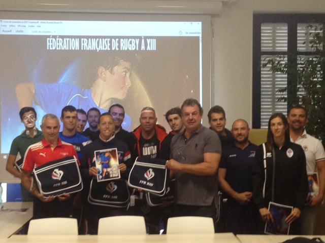 Ecoles De Rugby Xiii Remise Du Livre De Competences Des