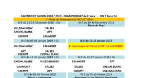 Calendrier Coupe D Europe Rugby 2020.Calendrier 2018 2019 Federation Francaise De Rugby A Xiii