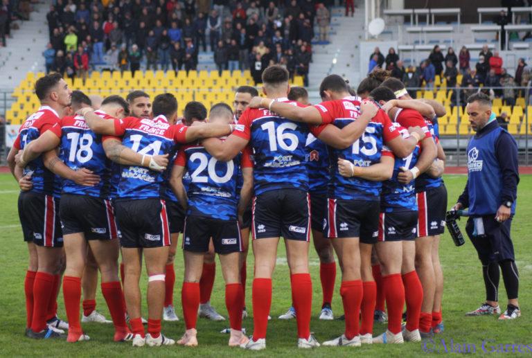 Rugby à toucher et oppositions  au menu de l'équipe de France!