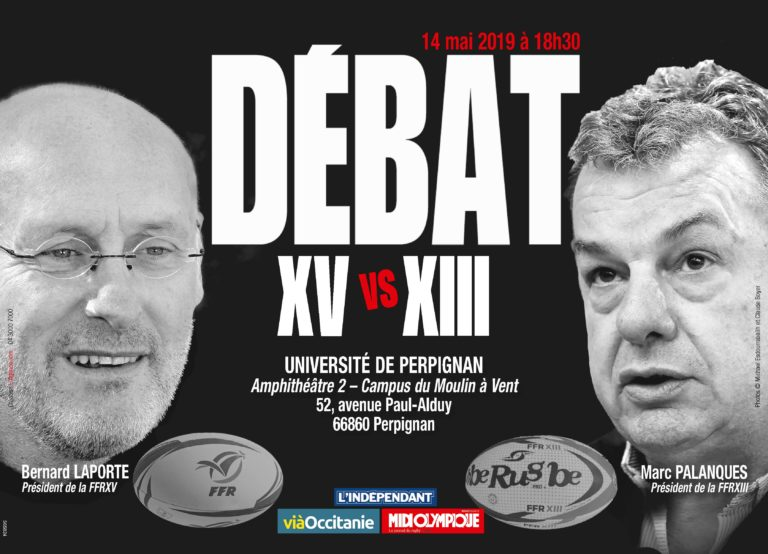 Le grand débat : XV vs XIII (Bernard Laporte et Marc Palanques)