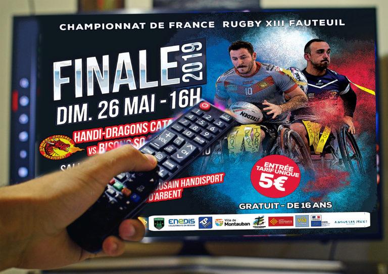 REPLAY VIDEO: Finale 2019 Championnat de France Fauteuil ELITE1