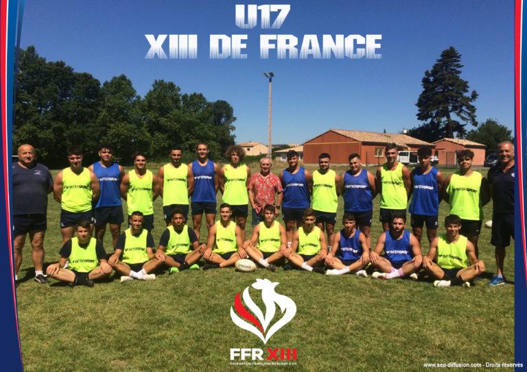 L'équipe de France U17 en préparation et sur le terrain des Leeds Rhinos!