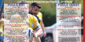 Calendrier National 2020.Calendrier 2019 2020 Federation Francaise De Rugby A Xiii