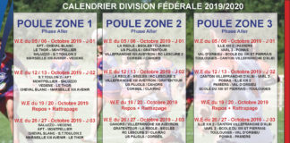 Calendrier Foire 2020.Calendrier 2019 2020 Federation Francaise De Rugby A Xiii
