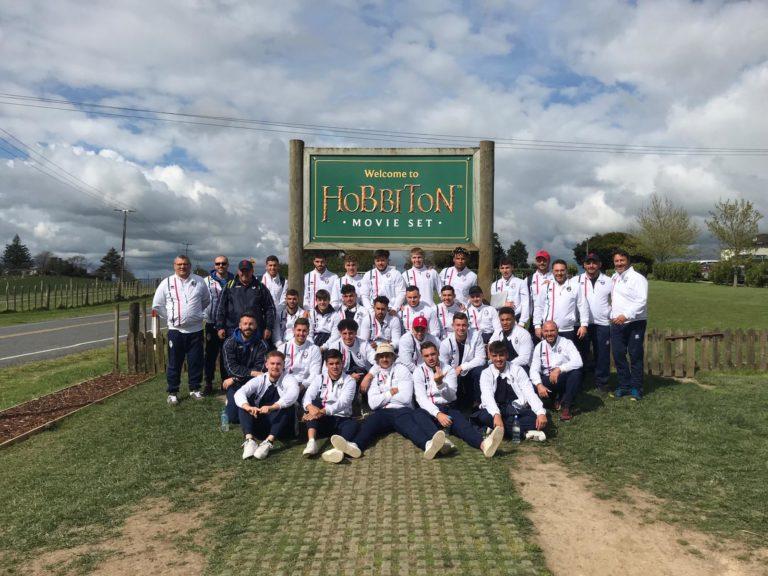 Le XIII de France U19 au pays des Hobbits! (photos)