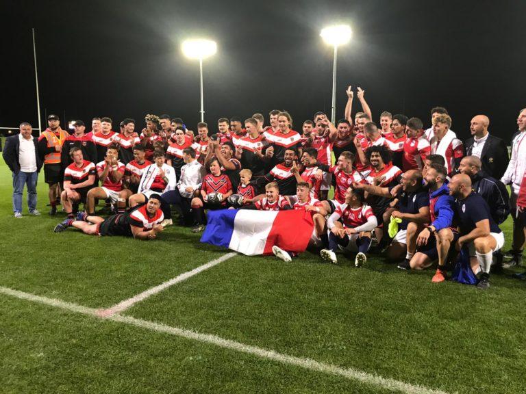 U19 Tournée Nouvelle-Zélande: Une première victoire pour nos Bleus!