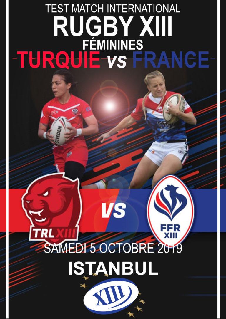 Turquie vs France Féminines en direct!