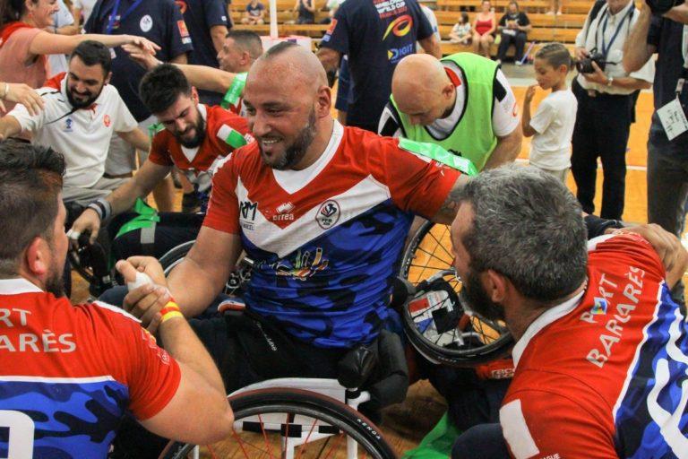 Le XIII de France fauteuil en démonstration à Narbonne!