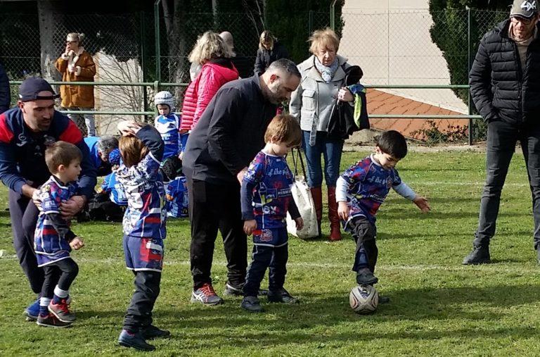 Les rencontres Ecoles du Rugby en Pays Catalan