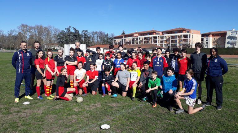 En route vers le Championnat d'Académie de Rugby à XIII en Auvergne-Rhône-Alpes