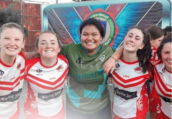Féminines : Le sourire thaï des cadettes d'AYGUESVIVES