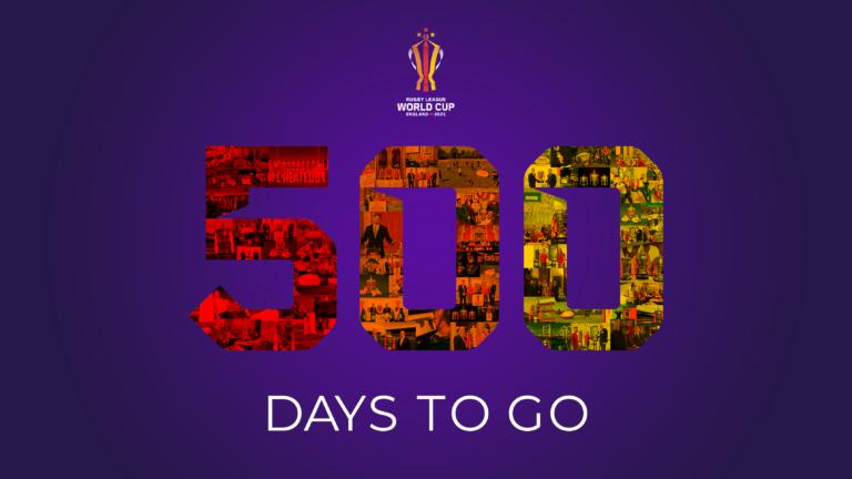 Coupe du Monde 2021 : J-500 avant le coup d'envoi !