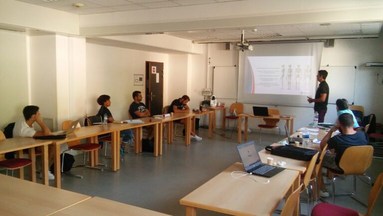Formation : Plan Sport, Santé & Bien-être ce matin au CREPS de Toulouse