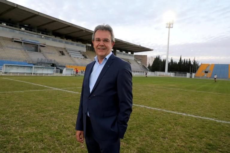 """Luc Lacoste : """"Retrouver notre place au centre du sport français"""""""