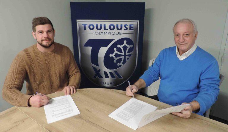 Le Toulouse Olympique XIII avec Rémi CASTY vers la Super League