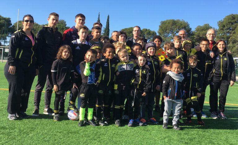 Ecole de Rugby : 4 futurs éducateurs en formation au club de Lambesc Rugby XIII