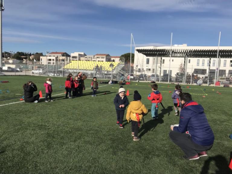 Ecole de rugby : Un Ballon pour tous chez les Dragons de Saint-Georges d'Orques (Hérault)